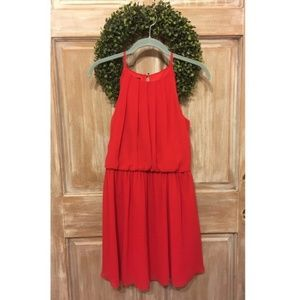 Red Halter Prom Dress Lace Macy's